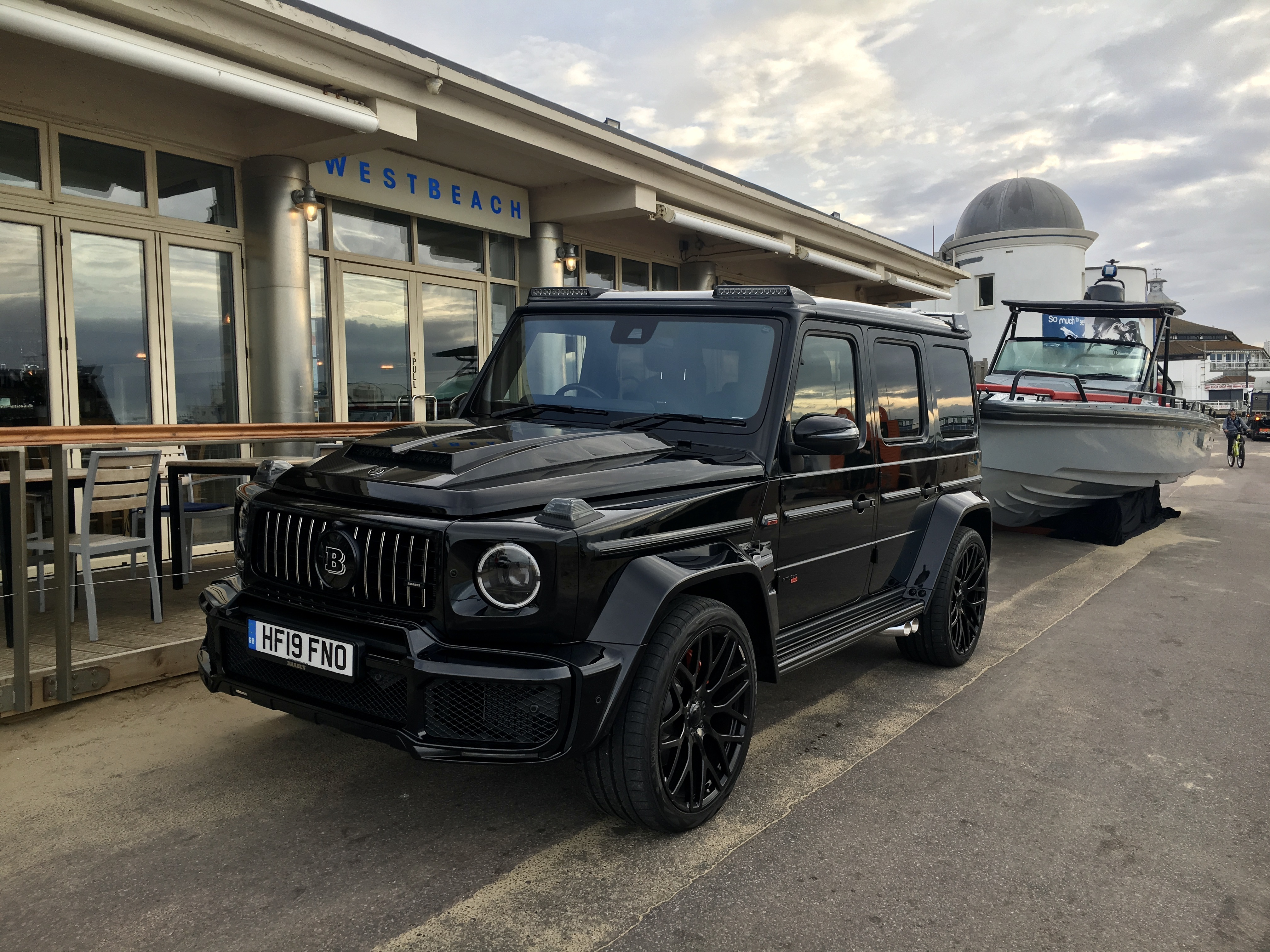 Brabus WestBeach with Boat